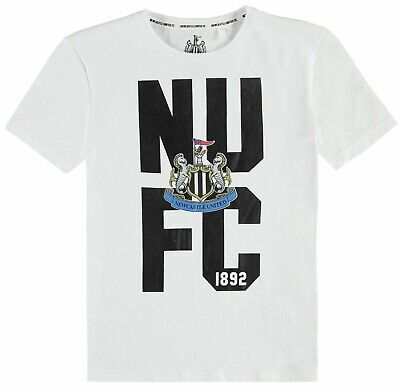 ⚽️NEWCASTLE UNITED FC⚽️Official⚽️Club Crested NUFC T-SHIRT Top⚽️Small⚽️NEW⚽️17