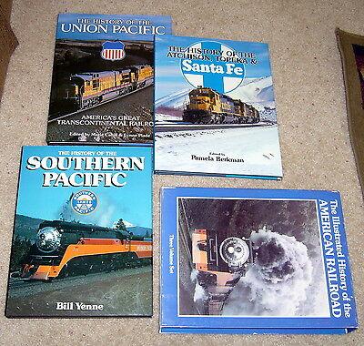 Illustrated History Of American Railroad 3 Vs Crescent Bonanza Vg  Vg   Hb  C