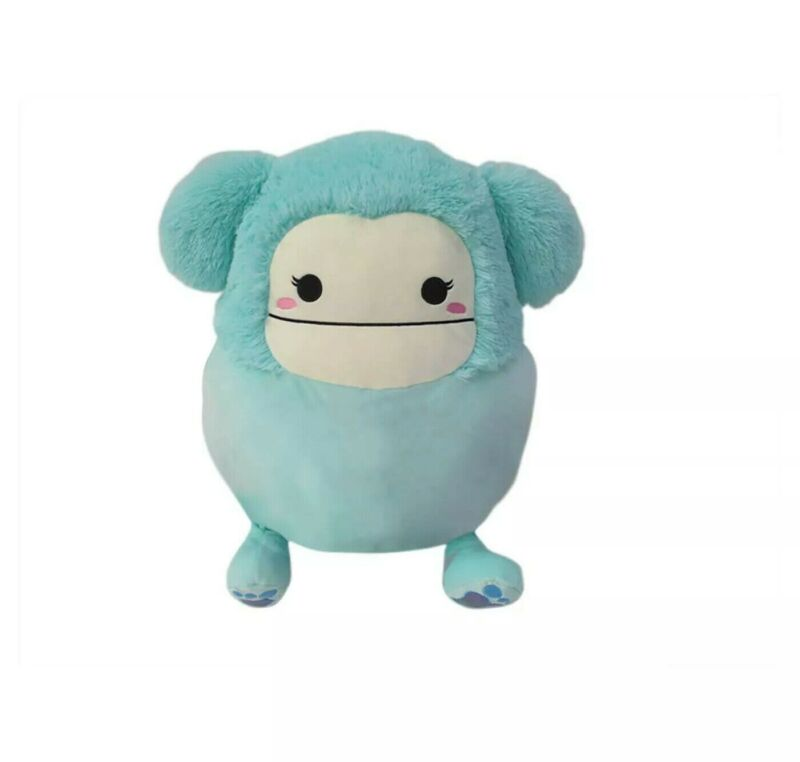"""✅RARE! Squishmallow Blue Big Foot 16"""" Inch Joelle Plush Toy FREE SHIPPING!"""