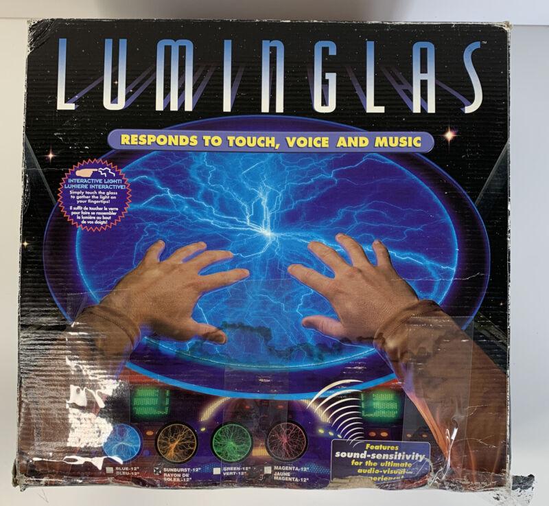 "12"" Luminglas Blue Plasma Interactive Light"