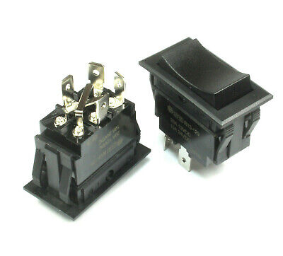 Heavy Duty Momentary Motor Reversing Switch 20a At 12vdc 10a At 24vdc