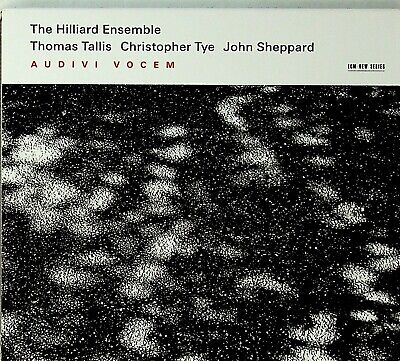 THE HILLIARD ENSEMBLE Tallis/Christopher Tye/John Sheppard - Audivi vocem CD ECM