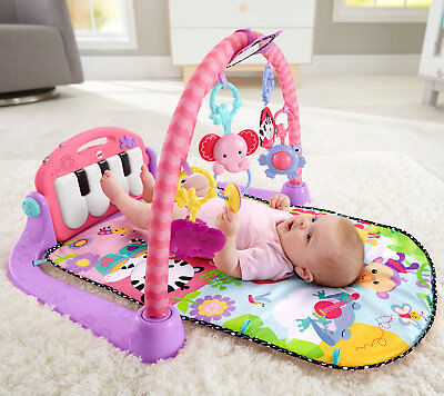 Fisher Price Kick And Play Piano Gym  Pink