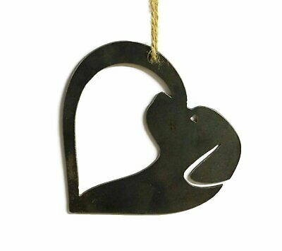 - Dog Heart Metal Christmas Ornament Tree Stocking Stuffer Party Favor Holiday Dec