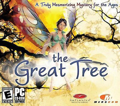 Computer Games - The Great Tree PC Games Windows 10 8 7 XP Computer puzzle arcade adventure NEW