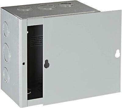 New Gray Bud Nema 1 Sheet Metal Junction Box Electrical Enclosure Project 6x6x4
