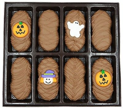 Philadelphia Candies Halloween Pumpkin Asst Milk Chocolate Nutter Butter - Halloween Pumpkin Cookies