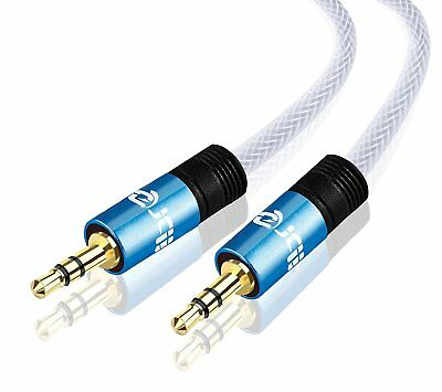 2M - 3.5mm Jack Plug To Plug Male Cable - Audio Lead For MP3,Headphone,Aux CAR - Mp3 Jack