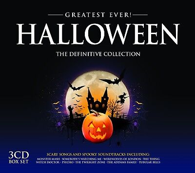 HALLOWEEN: GREATEST EVER 3 CD NEW MONSTER MASH/WITCH DOCTOR/THE SHINING/+ (Halloween 3 Soundtrack Cd)