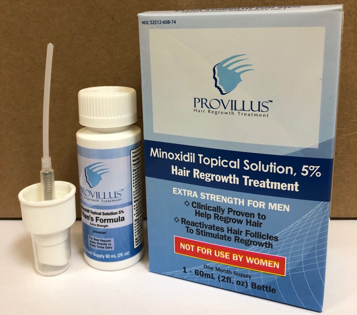 Provillus For Men - NEW IMPROVED SPRAYERS - Minoxidil Soluti