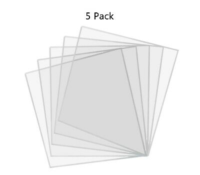 3 X 3 Clear Acrylic Sheet Pack Of 5 Square Plexiglass Tiles For Diy Projects