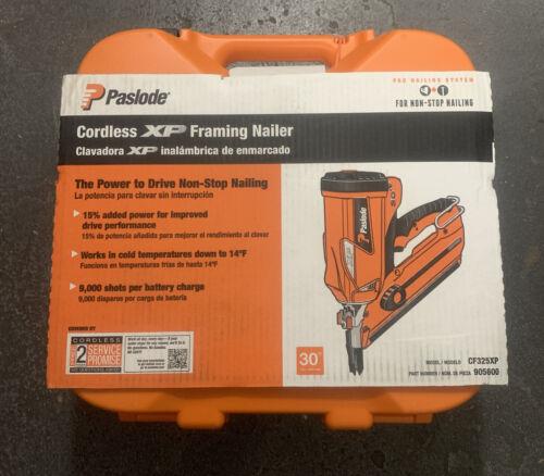 Paslode Cordless Framing Nailer CF325XP 905600 30 Degree New