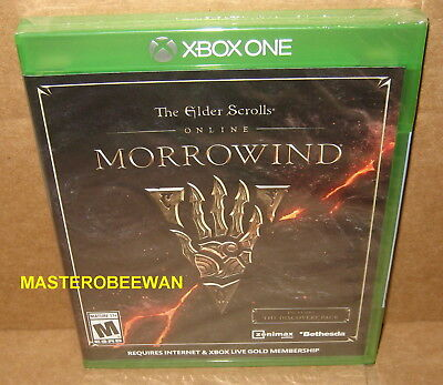 The Elder Scrolls Online  Morrowind New Sealed  Microsoft Xbox One  2017