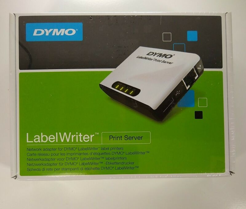 Dymo LabelWriter Print Server, Windows and Mac Compatible (DYM1750630)