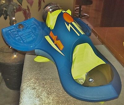 Fisher Price L4810 M2126 Planet Heroes Turbo Shuttle~Makes Sounds~Missing Parts