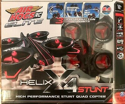 Air Hogs RC Elite Helix X4 Stunt 2.4Ghz Quadcopter New & Factory Sealed