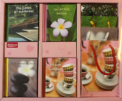 Geschenkbücher Set Weisheiten Buch Sets 4x Weisheiten inkl. Deko