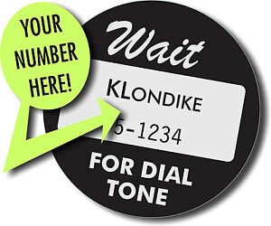 Custom-Retro-Telephone-Number-Cards