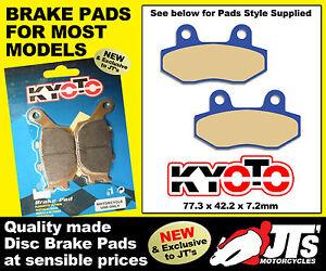 REPLICA-FRONT-DISC-BRAKE-PADS-HP-POWER-Chromel-125-4T-LC-11-12