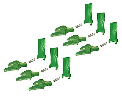 6 - Esco Super V Style Excavator Shanks Dirt Teeth Pins - 5849-v29 V29syl