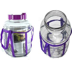 10 L Multifunktions-Gärballon Gärbehälter Glasballon Einmachgläser  Einweckglas