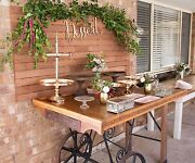 Vintage cart table for HIRE ONLY  dessert Lolly buffets cake display Para Vista Salisbury Area Preview
