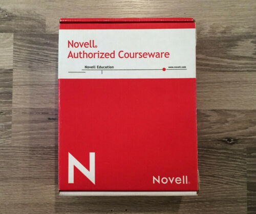 Novell Authorized Courseware / NetWare / Foundations of Novell Networking