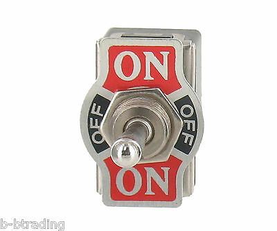 Heavy Duty 20a 125v 15a 250v Dpdt 6 Term On-off-momentary On Toggle Switch