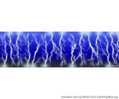 VuScapes Truck Rear Window Graphic - 4 SIZES AVIAL. - LIGHTNING 2 BLUE