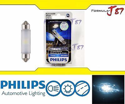 Philips Vision LED Festoon 43mm White 6000K Map License Plate Dome Festoon X 1