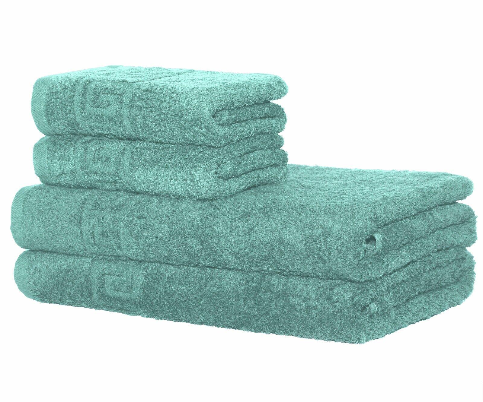 Towels Set 2 Bath or 2 Hand Towels  100% Cotton