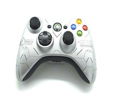 Official Microsoft Xbox 360 Wireless Controller Halo Reach Edition Grade C comprar usado  Enviando para Brazil