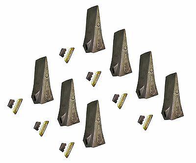7 - Esco Style Conical Dirt Teeth - 30 Series - W Pin Lock - 30s T30s