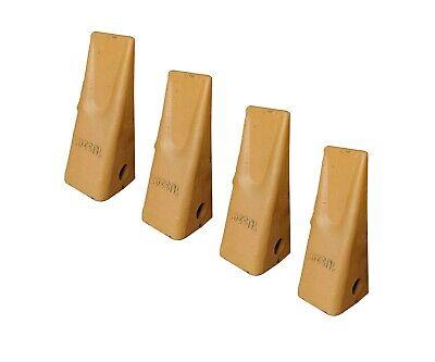4 Cat J200 Style Backhoe Bucket Dirt Teeth - 1u-3202