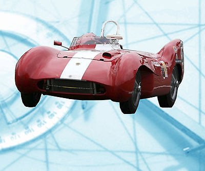Teather Car 1 12 Scale Lotus Mk  Ix Notes   Full Size Printed Plans