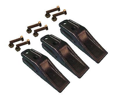 3 - Bobcat Style Skid Steer Mini Ex Bucket Uniteeth W Hardware - 6684447