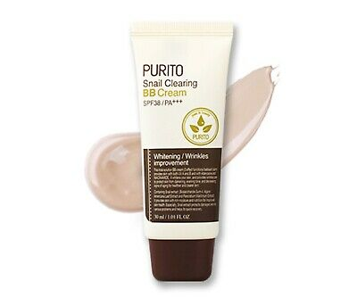 [PURITO] Snail Clearing BB Cream [No.23 - Natural Beige] 30ml - Korea Cosmetic