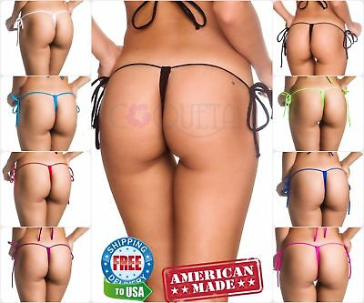 COQUETA Bikini Bottom Swimwear Size s Swimsuit thong G-STRING Sexy Women Nwt](G String Bottom)