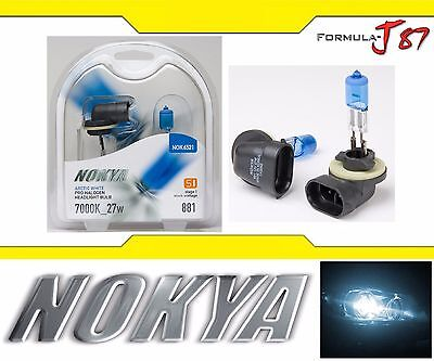 Nokya 7000K White 881 Nok6521 27W Two Bulbs Head Light Replacement Snowmobile