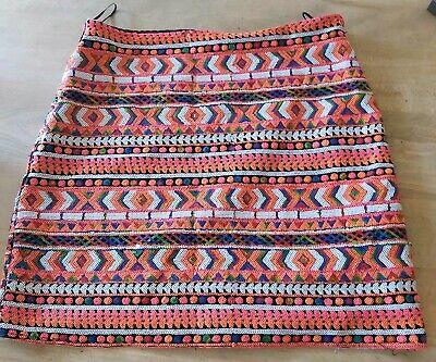 JOVONNA London sequined skirt size 14 *PLEASE READ DESCRIPTION*