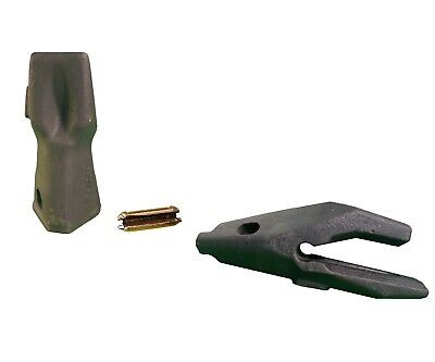 1 Backhoe Bucket Adapter34 Lip Impact Tooth Pin Fits Cat Drs200 Series