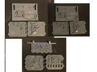 Black templar Upgrade Land Raider Doors Warhammer 40k Space Marines Bits