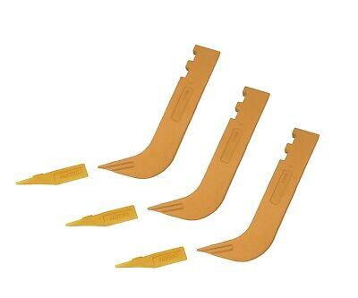 3 - Set Of 8110 Scarifier Shanks With 6y5230 Scarifier Teeth