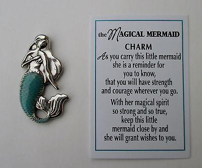 dd Magical little Mermaid POCKET figurine CHARM strength courage magic spirit