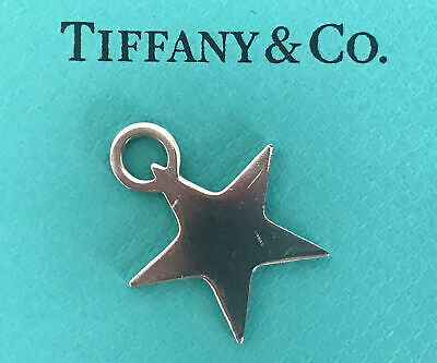 Tiffany & Co, Vintage Sterling Silver Star Charm Pendant