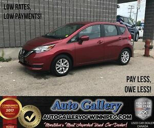 2017 Nissan Versa Note SV *Low KMs!