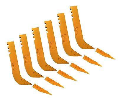 6 Scarifier Shanks Tips Fits Many John Deere Motor Graders- T114792 T6y5230