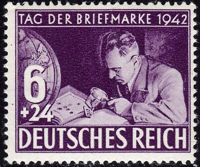 Deutsches Reich 811 **  Tag der Briefmarke 1942, postfrisch
