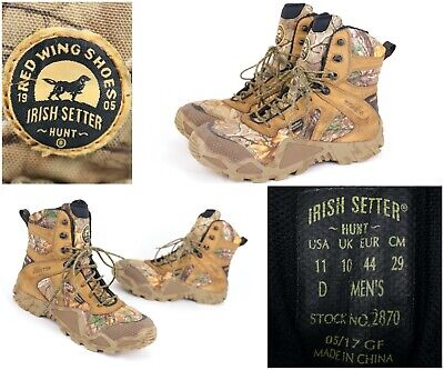 Red Wing Shoes Irish Setter Hunting Camo Boots Men's Sz 11 - 2870 -