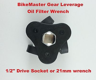 BikeMaster Motorcycle Gear Leverage Oil Filter Wrench Triumph FOR BMW Uni